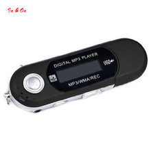 Mini USB 32G TF Card Slot Supported USB Flash MP3 Player With FM Radio Earphone Headset