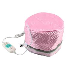 Hot Selling 1Pcs US Plug Thermal Treatment Electric Hair Beauty Steamer SPA Nourishing Hair Care Cap(China)