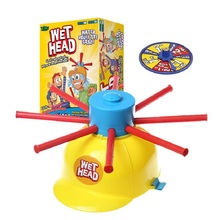 1Pcs/set Wet Head Hat Water Game Challenge Wet Jokes Practical Jokes Funny Toy Trcik People toy funny Roulette Game toys Gags