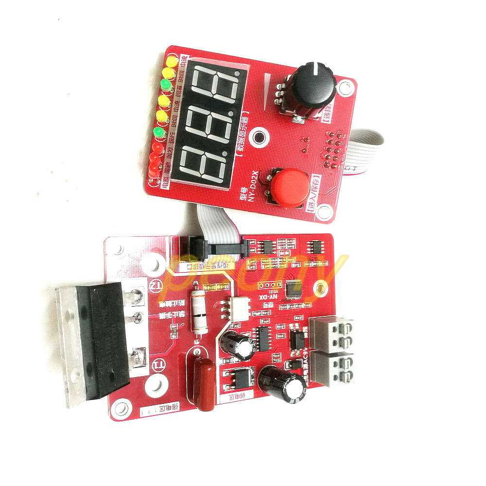 Consumer Electronics Audio & Video Replacement Parts Sincere Ny-d04 Diy Spot Welding Machine Transformer Controller Control Panel Board Adjust Time Current Digital Display Buzzer Led Pulse
