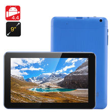 New Cheapest 9 inch Tablet PC Allwinner A33 Quad Core CPU 8GB ROM Bluetooth Android 4.4 Google Play Skype +Gift