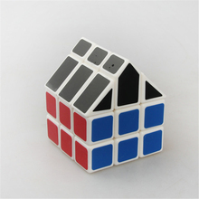 TiSe Cubetwist 10 Styles Black Roof Color Third-order House Magic Cube Kids Gifts Puzzle Cube Children's Toy Figures Present