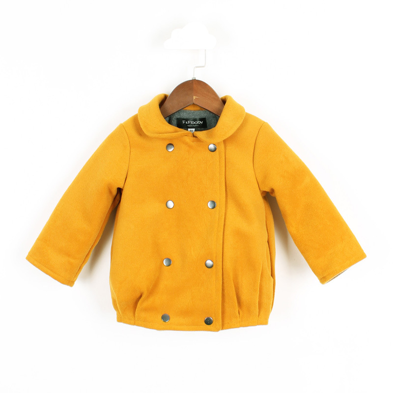 Kids Coat Winter Girl Very Thick Warm Coat Solid Color Jacket Winter Baby Girl Clothes Kids Clothing Fleece Lining Baby Costume <br>