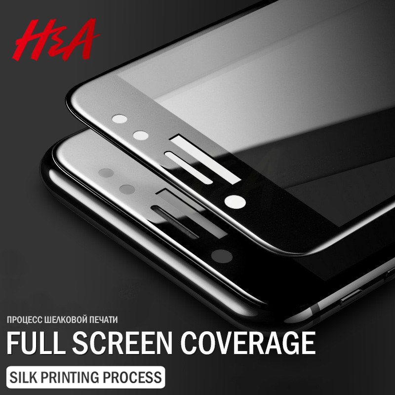 H&A 9H Full Cover Tempered Glass Samsung Galaxy S7 S6 A3 A5 A7 2016 2017 J3 J5 J7 Screen Protector Protective Glass