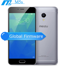 "Original MEIZU M5S 4G FDD LTE Cell Phone 3GB 16/32GB MTK6753 Octa Core 5.2"" HD IPS 13.0mp Fingerprint Fast Charging Mobile Phone(China)"