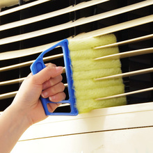 1 Pc Blind Cleaning Brush Window Cleaner Toilet Accessories Vents Remove Dust Convenience Detachable Air Conditioner Duster(China)