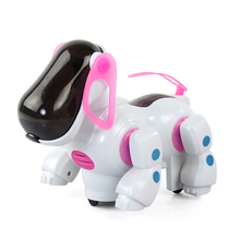 2016 New High Quality Electronic Dancing singing Light Robot Dog Birthday Christmas Gift For kids Toys Dog Model Action Figures