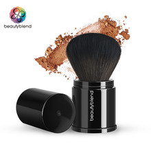 Beautyblend Brand J-8034 Makeup Tools Cosmetic Brush Scalable Black Loose Powder Brush(China)