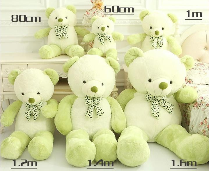 2016 Teddy Bear Stuffed Animals Toys Plush Doll, Giant Stuffed Bear Plush Toy For Girl Friend/Children Birthday gifts Christmas(China (Mainland))