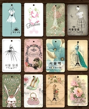 250pcs/lot Clothing Printing Hang Tags Price Tag in Stock Labels for Clothes Personalizar Etiquetas Free Shipping
