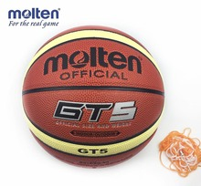 High Quality Size5 Molten gt5 Basketball Ball GT5 Teenager basket topu Basketball Training Ball Free with Net&Pin For Hot Sale