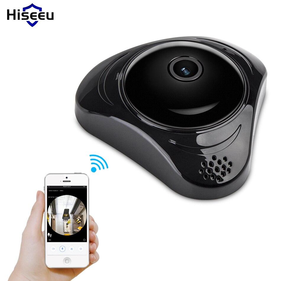 HD 960P VR wi-fi FishEye IP camera panorama  360 degree Full View Mini CCTV Camera IR Network Home Security<br>