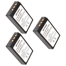3Pcs High-Capacity PS-BLS1 PS BLS1 PSBLS1 batteries for Olympus PEN E-PL1 E-PM1 EP3 EPL3 Evolt E-420 E-620 E-450 E-400 E-41