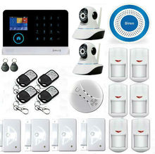 YB103 2.4inch TFT Display Wireless Burglar Alarm System/Security System Wifi+GSM+GPRS Alarm Intelligent Security Alarm System