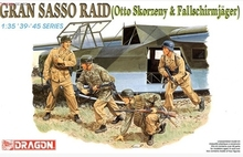[Dragon] Plastic Model Kit 1/35 Gran Sasso Raid Figure Set (6094)