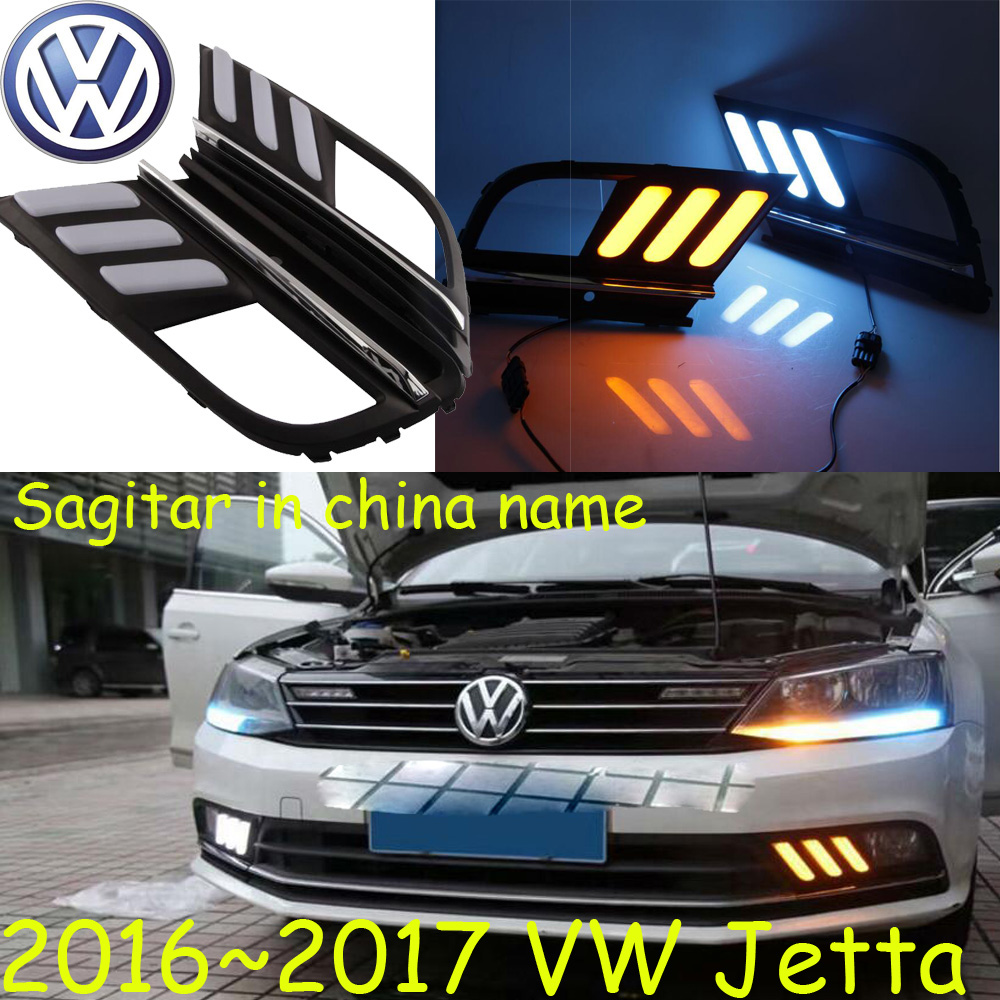 Jetta Daytime light;2016~2017, Free ship!LED,Jetta fog light,polo,passat,magotan, Sagitar,sharanvento,lupo,nuevo,phaeton<br>