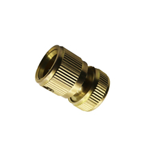 6pcs Copper Fittings Quick Taps And Washing Machine Hose Adapter Fittings And Standard Industrial Water Gun Accessories