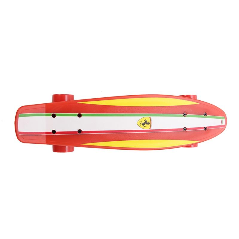 Fish Skateboard Skateboarding Four-wheel Street Banana Long Mini Cruiser Fish Skate Board for Children (4)