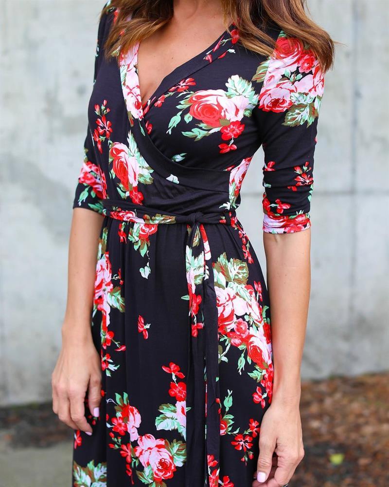 Women-Summer-Beach-Dress-Elegant-Floral-Print-Maxi-Dress-Deep-V-Neck-Women-Casual-Long-Dresses (1)