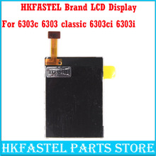 HKFASTEL Brand Original LCD for Nokia 6303c 6303 classic 6303ci 6303i classic Mobile phone Screen Digitizer Display + tool