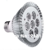 High Quality LED Light par 7W PAR30 led Spotlight E27 AC85~265V Cool White / Warm White PAR 30 LED Par Bulb(China)