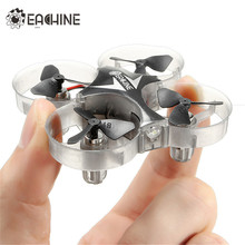 Eachine E012 Mini 2.4G 4CH 6 Axis Headless Mode LED Light RC Drone Quadcopter Helicopter Mode 2 Toys Models Gift RTF VS JJRC H36(China)