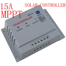 MPPT 15A 12V/24V Solar Regulator Charge Controller intelligent Auto switch Solar Panel factory wholesale Best Price