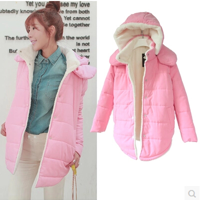 Women Winter Coats Thick Slim Fashionable And Comfortable Solid Cotton Long Plus Size Blue Pink Purple Green Warm CoatsОдежда и ак�е��уары<br><br><br>Aliexpress