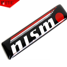 Nismo Car Styling Motor Racing Decal Wrapping Epoxy Sticker Aufkleber 3D Glue Car Sticker Adhesive Printing Label Car Body Badge