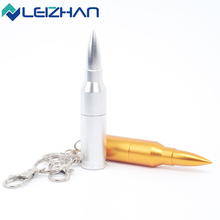 Hot Sale USB Stick Bullet USB Flash Drive Pen Drive Pendrive 2.0 64g 32g 16g 8g 4g Computer Memory USB Drive with Keychain