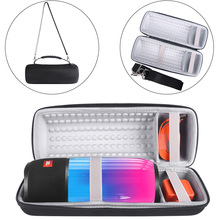 Hard Protect Carry Case Storage Pouch Bag Sleeve Travel Case Cover for JBL Pulse 3 Speaker-Extra Space for Plug&Cable(With Belt(China)