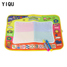 YIQU Aqua Doodle Children Drawing Toys Sets Mat + Magic Pen Educational Toys for Children