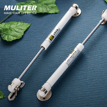MULITER Shock Strut Force Lift Support Furniture Gas Strut Spring Cabinet Door Kitchen 100N 10kg Cupboard Hinges Lid Stays Soft