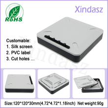 Wholesale-120*120*30mm home network enclosure router plastic box enclosure electronic(China)