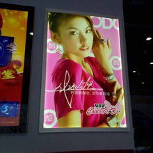 LED Slim Light Box with Aluminum Snap Frame for Advertising Display(China)