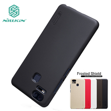For ASUS Zenfone 3 Zoom ZE553KL Case Cover Hight Quality Super Frosted Shield +Screen Protector For ASUS Zenfone 3 Zoom 5.5''(China)