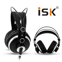Top quality  ISK HP-980 Fully enclosed computer  headset monitor headphones professional studio monitor headphones