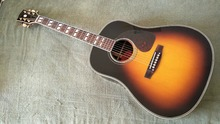 acoustic guitar 41 inch guitar acoustic j45 model Guitar Top AAA Solid Spruce Body Guitar Fishman pickups Vintage Sunburst