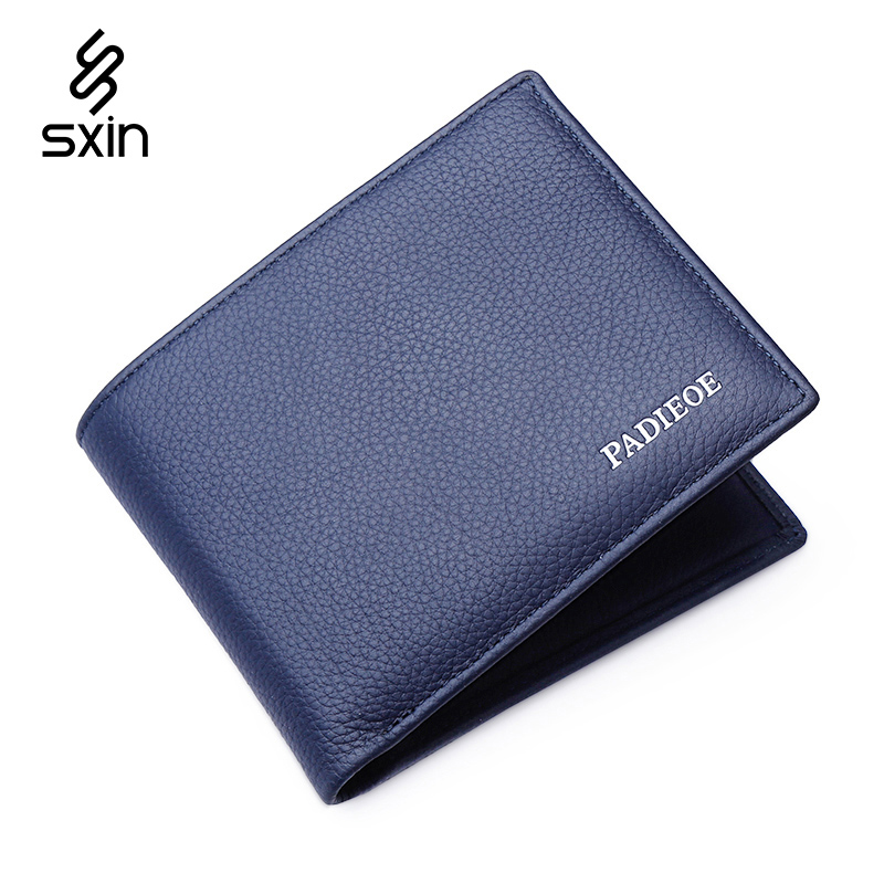 Mens Wallets Famous Brand Short Wallet Man Homemade Male Slim Purse Cow Leather Business Card Holder Clutch Wallets<br><br>Aliexpress