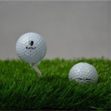 Golf double layer ball synthetic rubber sarin PU game ball Practice Training Aid Golf Ball