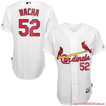MLB Men's St. Louis Cardinals Michael Wacha Baseball White Home 6300 Player Authentic Jersey(China)