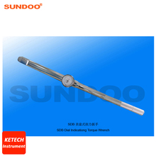 Sundoo SDB-500 100-500N.m Handheld Dial Indicating Torque Wrench
