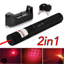 532nm/650nm Focus  Beam Laser Pointer Pen Green Laser Pointer dot 200mW burn match  Free Shipping