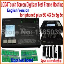 2015 NEW version LCD Touch Screen Digitizer Testing Tester for iphone 4 4S 55S 5C 6 6plus full set