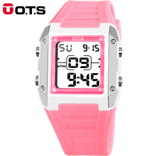 Boys Girls Women Unisex Summer Gift Candy Colorful LED backlight Waterproof Sport Digital Electronic Quality Sport Wrist Watches