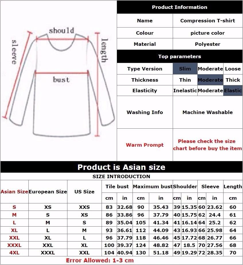 Marvel Gyms Clothing Fitness Compression Shirt Men Batman t-shirt men Long Sleeve 3D t shirt men Crossfit Tops tee shirt homme 1