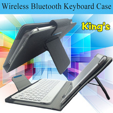 10.1 inch Bluetooth Keyboard Case Cover For Samsung Galaxy Tab 2 P5110 P5113 P5100 Note N8010 N8000 free 4 gifts(China)