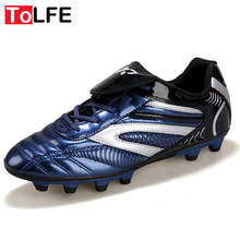 Plus Size 34-45 2016 New Outdoor Football Boots  Adults Boys Child Men Soccer Shoes Sport Trainers Athletic Soccer Shoe Sneakers