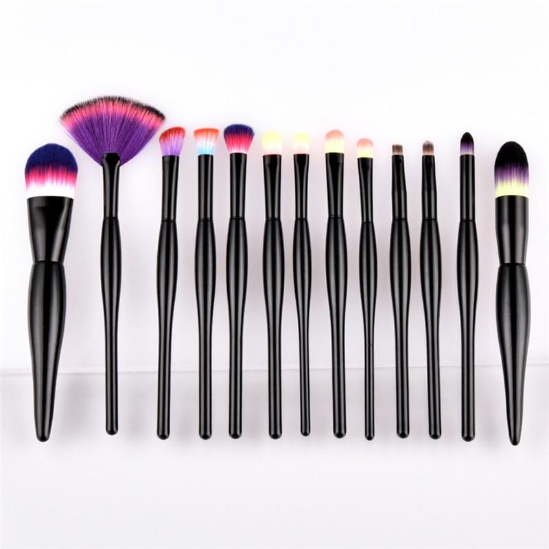 22 pcs Pro Makeup Brushes Set Kit Foundation Powder cosmetic brush Black bright Tool drop ship Feb 28 c3                        <br>
