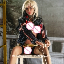 Buy New 155cm adult lifelike silicone real sex doll men shemale small breast tan skin Japanese Asian head pussy oral love